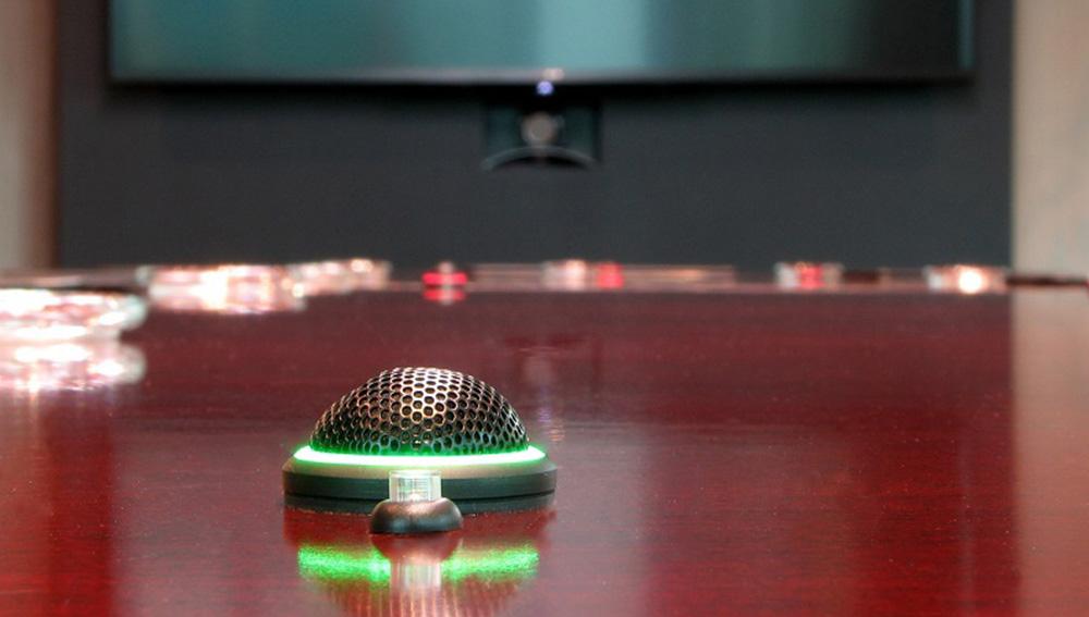 Light on Microphones