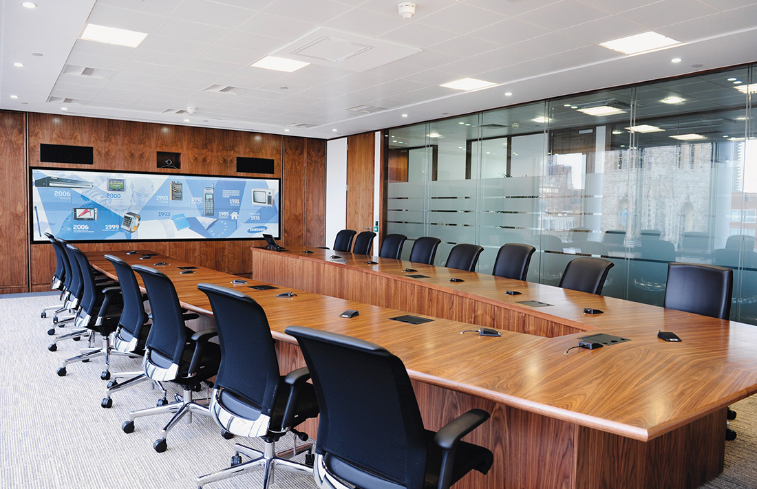 Rear Projection with Video Conferencing